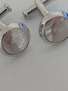 Mont Blanc silver Cufflinks