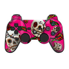 Sony PS3 Controller Skin - Pink Scatter - Skull - DecalGirl Decal