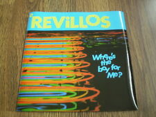 """THE REVILLOS - WHERE'S THE BOY FOR ME 7"""" DINDISC 1979 BARELY PLAYED NEAR MINT"""
