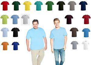 T-Shirt Übergrösse Kingsize Premium XS S M L XL XXL 3XL 4XL 5XL Top Qualität