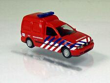 """Rietze 50848 Volkswagen Caddy II Kastenwagen """" Brandweer Amsterdam """" Niederlande"""
