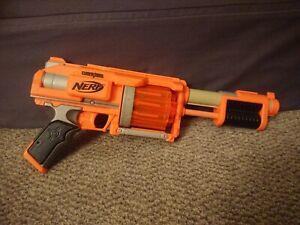 Nerf Dart Tag Fury Fire Shotgun Blaster (Orange)