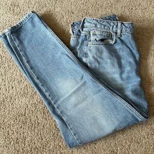 Ladies Topshop Jeans - Mom.  Size 28 x 30. Blue. FREE P+P