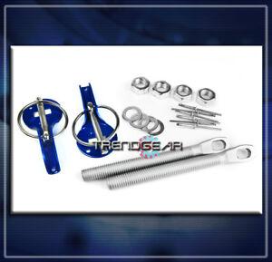 RACKING HOOD PINS LOCK KIT BLUE ELEMENT SRX STS XLR ASTRO SSR 300M SC1 CC RABBIT