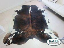 BRINDLE BELLY  HAIR ON SKIN  Skin Carpet RUG BRINDLE size approx 5x5- 5x6