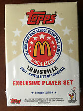 2007 TOPPS McDONALDS ALL AMERICAN SET GRIFFIN LOVE ROSE James Harden ROOKIE RC