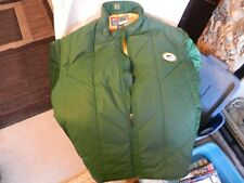 Bob Slowik Green Bay Packers Defensive Coordinator Green Sideline Winter jacket