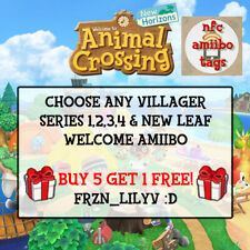 [NEW] Animal Crossing Amiibo NFC Tag Stickers - Choose Any Villager