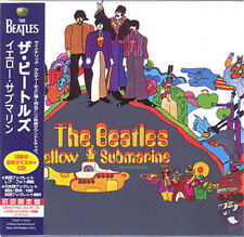 BEATLES - YELLOW SUBMARINE ( REMASTERED MINI LP AUDIO CD with OBI )