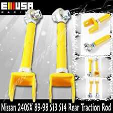 For Nissan 240SX 89-94 S13 95-98 S14 Rear Traction Rod YELLOW