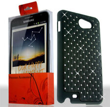 Spot Rhinestone Black Samsung GALAXY Note SGH-i717 Grip Cover Hard Case Skin