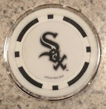 Chicago White Sox Texas Holdem Poker Chip Card Guard Protector NEW BLACK