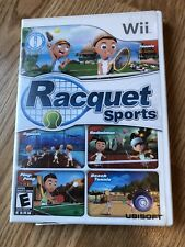 Racquet Sports (Nintendo Wii, 2010) Cib Game H2