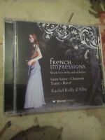 Audio CD. Misc. French impressions. Violin and Orchestra.