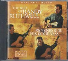 RANDY ROTHWELL - Remembering His Goodness - Christian CCM Praise Worship CD