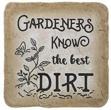 Ganz Stepping Stone - Gardeners know the best dirt (ER64098)