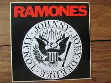 The Ramones Logo Aufkleber (Sticker) 10 X 10 cm, Johnny, Joey, Dee Dee, Tommy