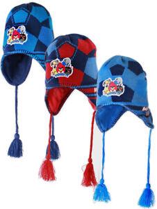 Angry Birds Boys 100% Winter Cotton Inca Hat -  Light Blue/Dark Blue/Red