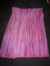 Unbranded A-Line Striped Regular Size Skirts for Women