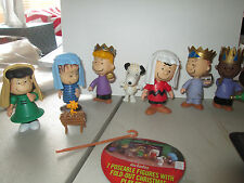 A Charlie Brown Christmas Peanuts Christmas Pageant Nativity Scene