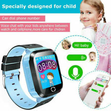 Reloj inteligente GPS GSM Tracker Localizador SOS Linterna Cámara Niños Infantil