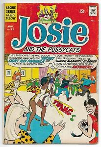 Josie and the Pussycats #49 (Archie, 1970) – Band Cover – Li'l Jinx – FN