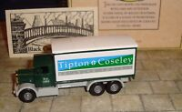 LLEDO - PROMO - 1937 SCAMMELL 6 WHEEL TRUCK - TIPTON & COSELEY BUILDING SOCIETY