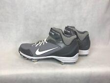 Nike 467796-002 Air Huarache Grey & White Baseball Cleats Men's Size 14 Charity