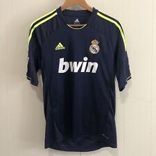 70b7d28d3dd Real Madrid Adult Medium 110 Year Anniversary Adidas Blue Away Soccer Jersey