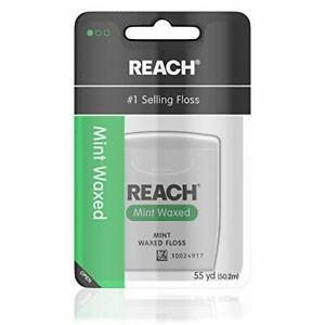 Reach Waxed Dental Floss, Mint, Mint, Mint, 1 Count