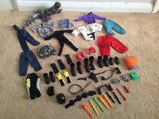 Action MAN MISSILI ARMI CASCHI cinture accessori Dragon x Job Lot
