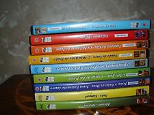 Lot of 9 Kid's DVDs Old & New Testament Bible Stories in 3 languages- 18 stories