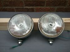 S.E.V. Marchal 812 a pair of chrome spotlights circa 1960/70s Made in France.