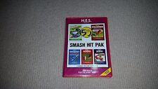 Smash Hit Pak Atari 2600 Game, Boxed HES, Frogger, Stampede, Seaquest