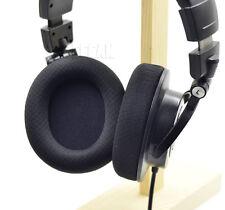 Black fabric ear pads cushion for Audio technica m30 m40 m50 m50x m50s headphone