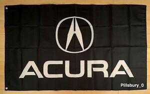 Acura Logo 3x5 ft Flag Banner Japanese Car Racing JDM