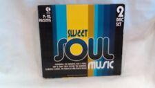 Sweet Soul Music 2 Disc Set K-tel Presents 2006 BCI Eclipse Company       cd3568