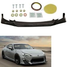 Fits 13-16 Scion Fr-S Frs Rs Style Add-On Front Bumper Lip Spoiler Body Kit Pu (Fits: Scion)