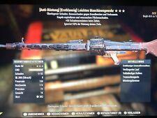 Fallout 76 PS4 Weapons Waffen Guns AAE BE TSE  Anti Armor Explo LMG