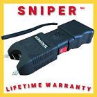 Military Grade  SNIPER Stun Gun 690 BV Heavy Duty - Rechargeable LED Flashlight <br/> Human, Dog, Bear, Cat Deterrent Lifetime Warranty