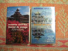 Alexandra David-Néel : Journal de voyage, lettres à son mari ( 2 volumes )