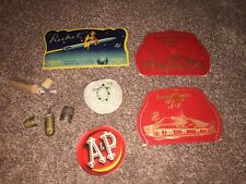 Vintage Sewing Lot - Thimbles Needles Cases - Great!
