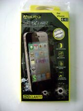ADuro ShatterguardZ Tempered Glass Screen Guard for iPhone 4/4S