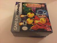 Disney's Lilo & Stitch 2: Hämsterviel Havoc(Nintendo Game Boy Advance, 2004) NEW