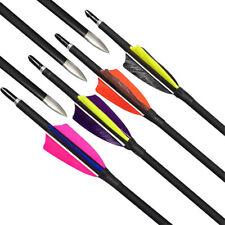 80 cm Mix Carbon Arrow Diameter 8.1mm For Composite  Bow And Arrow 6pcs