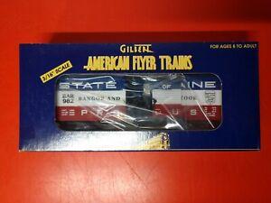 AMERICAN FLYER BANGOOR & AROOSTOOK BOX CAR 6-48333 VINTAGE NEW N BOX S GAUGE #1