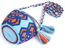 AUTHENTIC MOCHILA WAYUU / MINI SIZE / FINEST QUALITY / HANDMADE CROSS BODY BAG