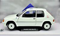 MODELLINO AUTO SCALA 1:18 PEUGEOT 205 RALLY RALLYE DIECAST CAR MODEL SOLIDO NEW