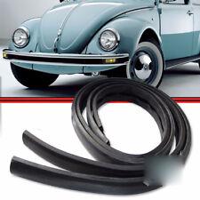 VW Bug Beetle Brasilia Front and Rear Bumper Rubber Moulding Set Gasket 2pcs T1