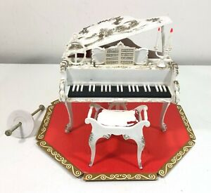 Vintage Susy Goose BARBIE and MIDGE Grand Piano with Box Insert 1964